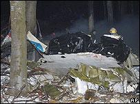 Accidente aéreo en Hungría.