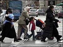 Muslim women in Rome