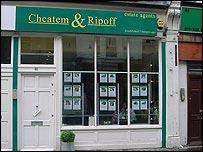 The Which? estate agents Cheatem & Ripoff