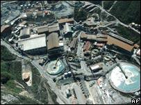 Grasberg mine in Papua