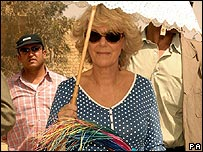 Camilla in Egypt