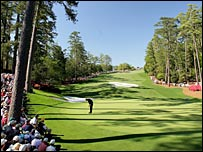 The Augusta National golf course