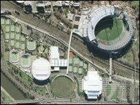 A Qasco shot of the MCG in Melbourne
