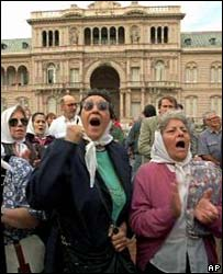 Mothers of the Plaza de Mayo. File photo