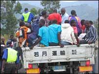 Ex-rebels returning to Rwanda
