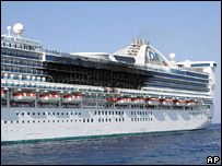 Scorched cabins on Star Princess cruise ship