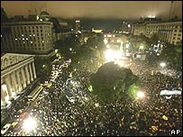 Plaza de Mayo, Buenos Aires.
