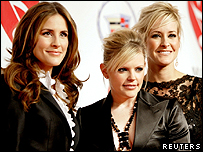 Dixie Chicks - (L to r): Emily Robison, Natalie Maines and Martie Maguire