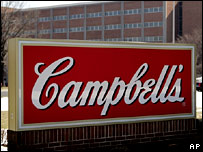 Campbell Soup sign
