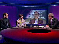 Newsnight's debate on Iraq on 21 March