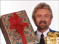 Noel Edmonds presenting Noel's Christmas House Party