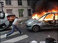 Violencia en Francia.