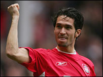 Luis Garcia scored Liverpool's second goal