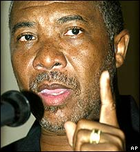 Former Liberian President Charles Taylor