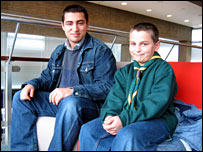 Cub leader Salah Aboulgasem and his brother Yusuf