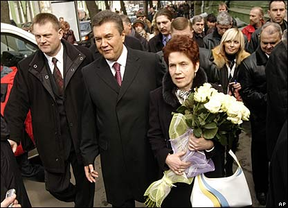 Viktor Yanukovych Family BBC NEWS | In Pictures...