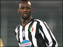 Juventus star Patrick Vieira