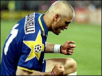 Former Juventus striker Fabrizio Ravanelli who scored against Ajax in the 1996 final
