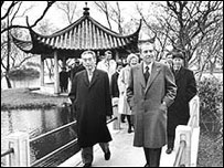 Nixon visita China