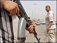 Mehdi Army fighters in Baghdad