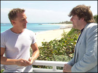 Daniel Craig and Jonathan Ross