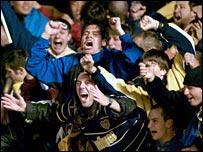 Fans of Argentinian side Boca Juniors