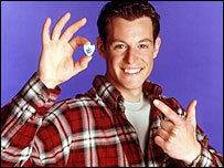 Blue Peter presenter Matt Baker