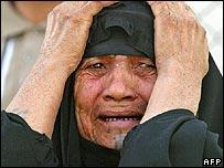 Mourner in Sadr City