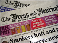 Press and Journal newspaper
