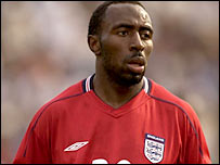Vassell scored on his England debut against Holland