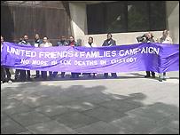 Demonstration outside Home Office