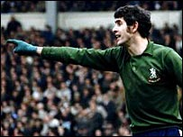 Chelsea legend Peter Bonetti made 729 appearances for the club
