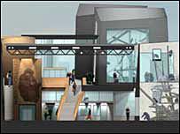 New chimpanzee centre