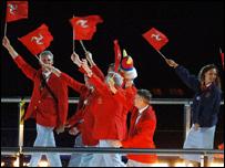 Isle of Man Commonwealth Games team
