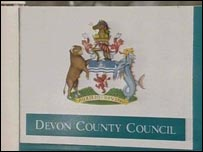 Devon County Council coat of arms