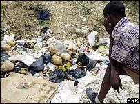 Skulls found in Haiti