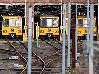 Tyne Metro system closed
