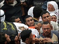 Funeral for slain Palestinian militant Samer Freihat