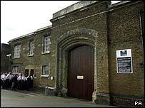 Brixton prison gates
