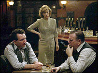 Eddie Marsan, Juliet Stevenson and Timothy Spall