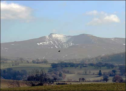 Pen y Fan in the Brecon Beacons, as snapped by Neil Jones