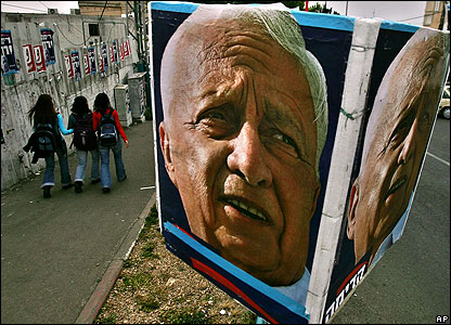 Poster of Ariel Sharon
