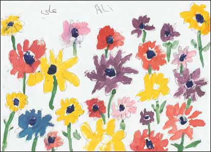 Flowers, a painting by Ali Abbas