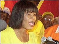 Jamaican PM Portia Simpson Miller