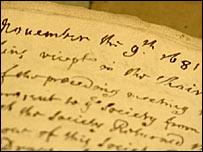 Dr Robert Hooke script