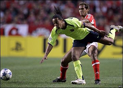 Beto challenges Ronaldinho