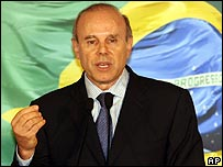 Guido Mantega, Brazil's new finance minister