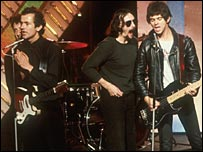 The Stranglers (Jean-Jacques Burnel far right)