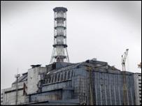 The Chernobyl plant