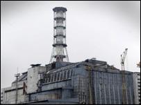 The Chernobyl plant